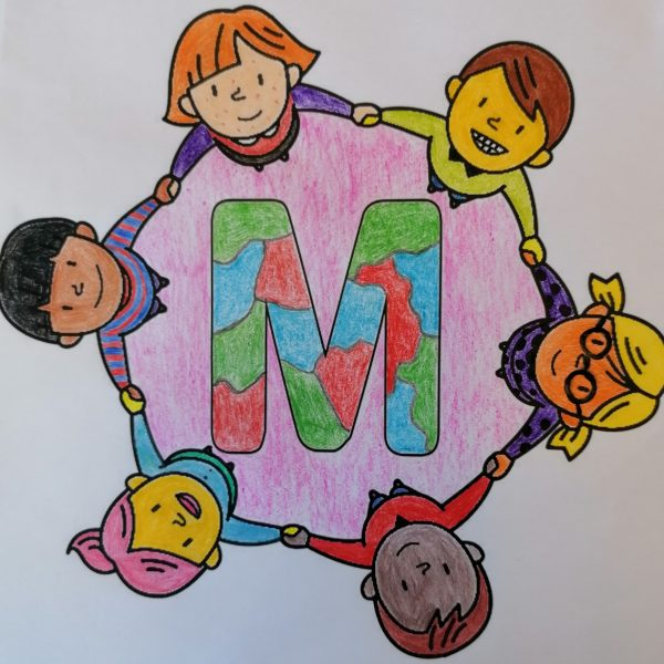 """""""KUNTERBUNTE KIDS"""" Kinderladen Kreativausstellung vom 22. März bis 26. März 2021 #BSSW"""